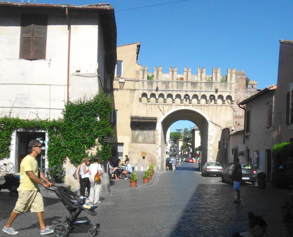 Trastevere Porta Settimiana
