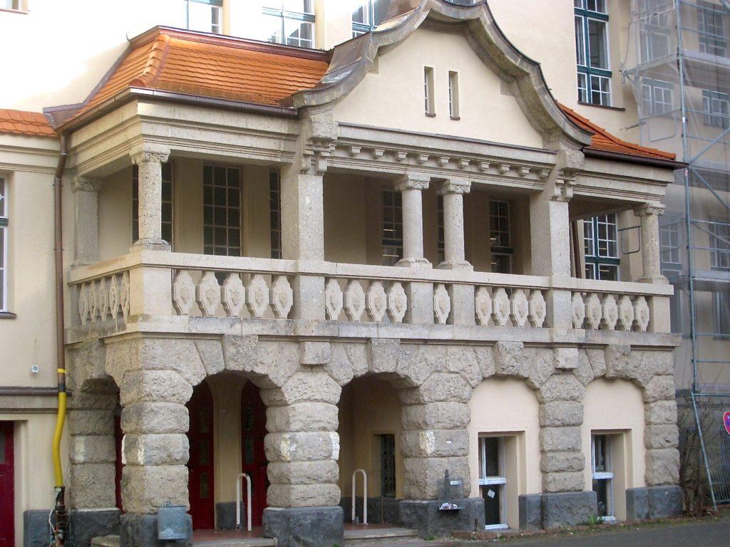 Friedenau Paul-Natorp-Schule Loggia
