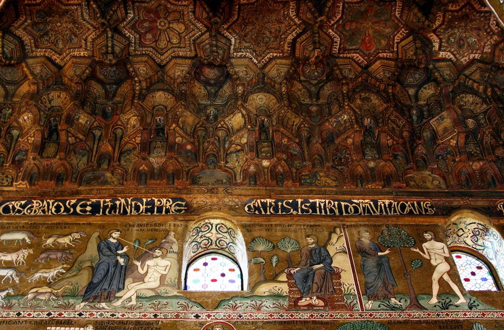 Palermo Palastkapelle Decke