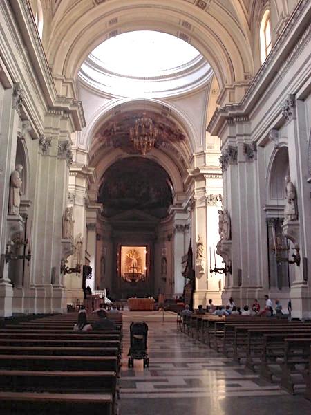 Palermo Dom Inneres