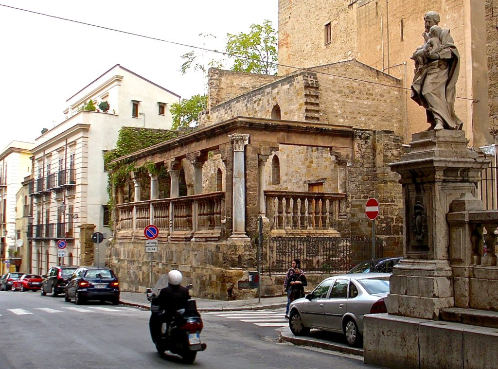 Palermo Kathedrale Loggia