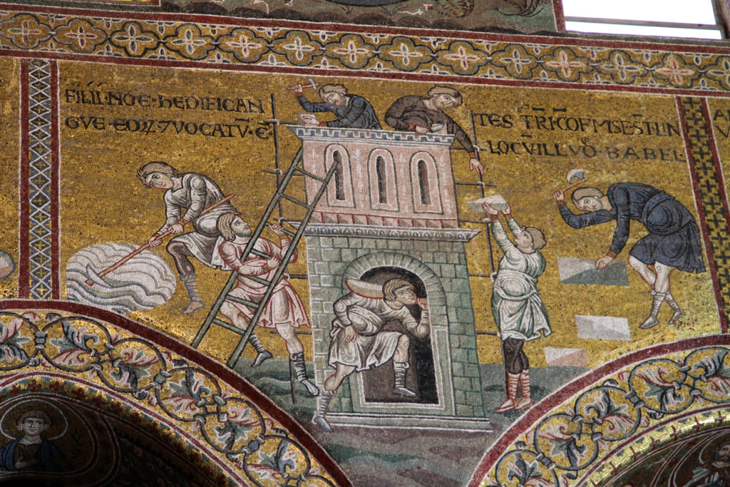 Monreale Mosaik Babel