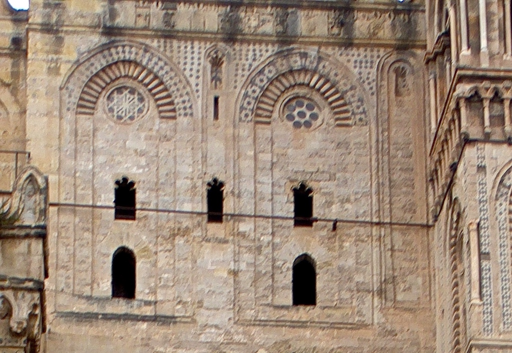 Palermo Lebbrosi arab. Dekor