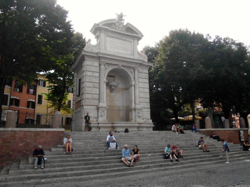 Trastevere Trilussa Acqua Paola