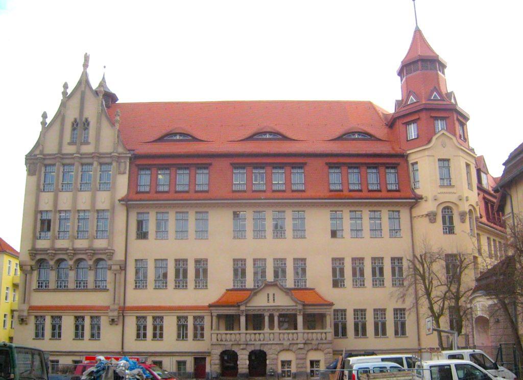 Friedenau Paul-Natorp-Schule Hof