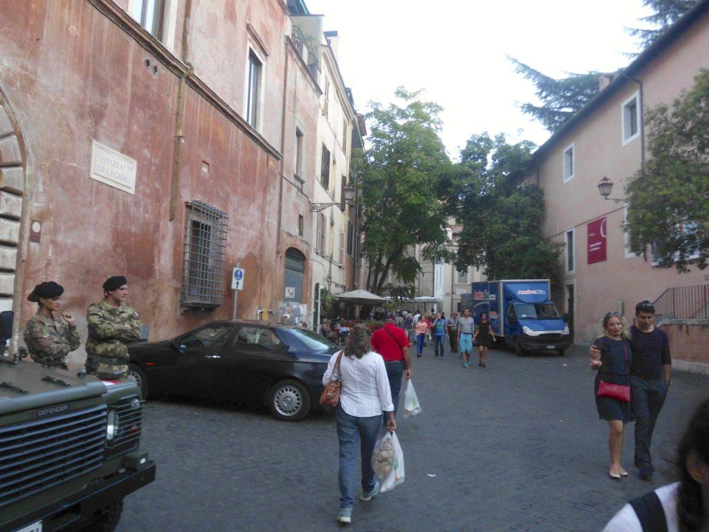 Trastevere Piazza S. Egidio