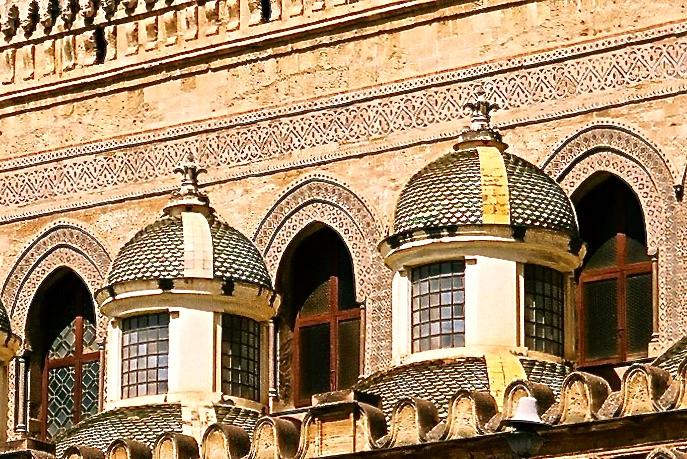 Palermo Dom Ornamente
