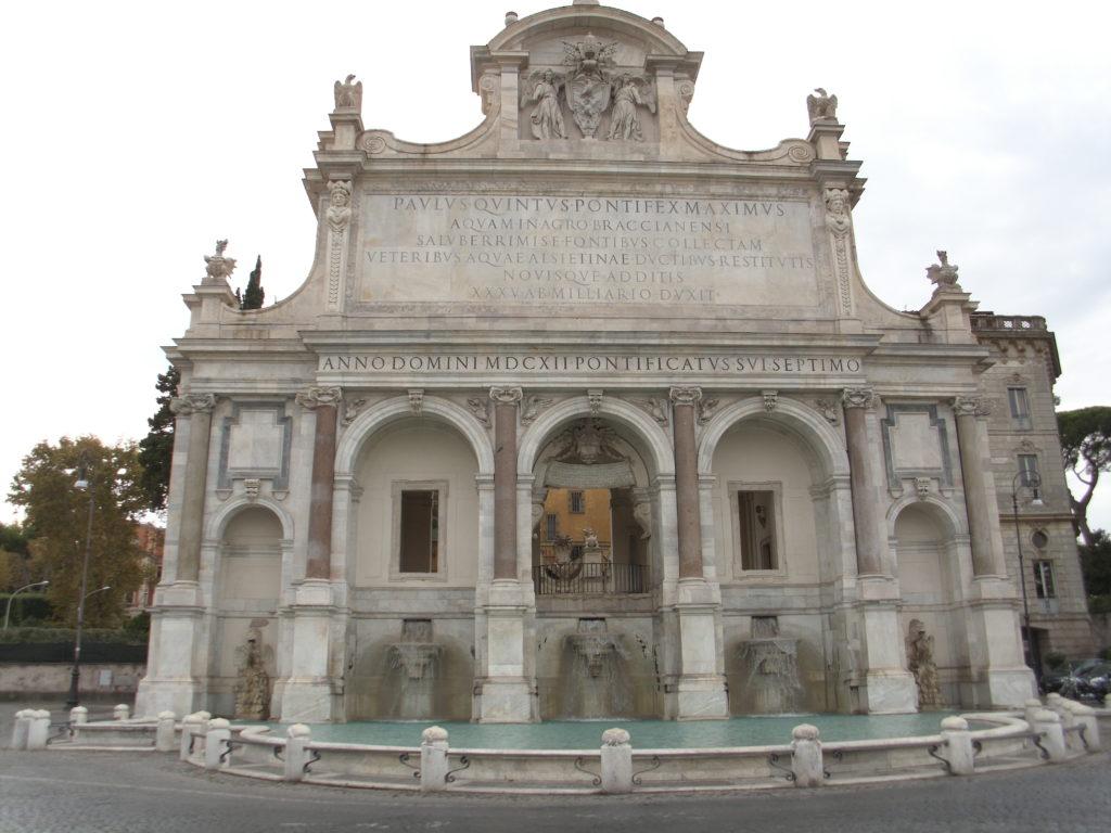Gianicolo Acqua Paola A