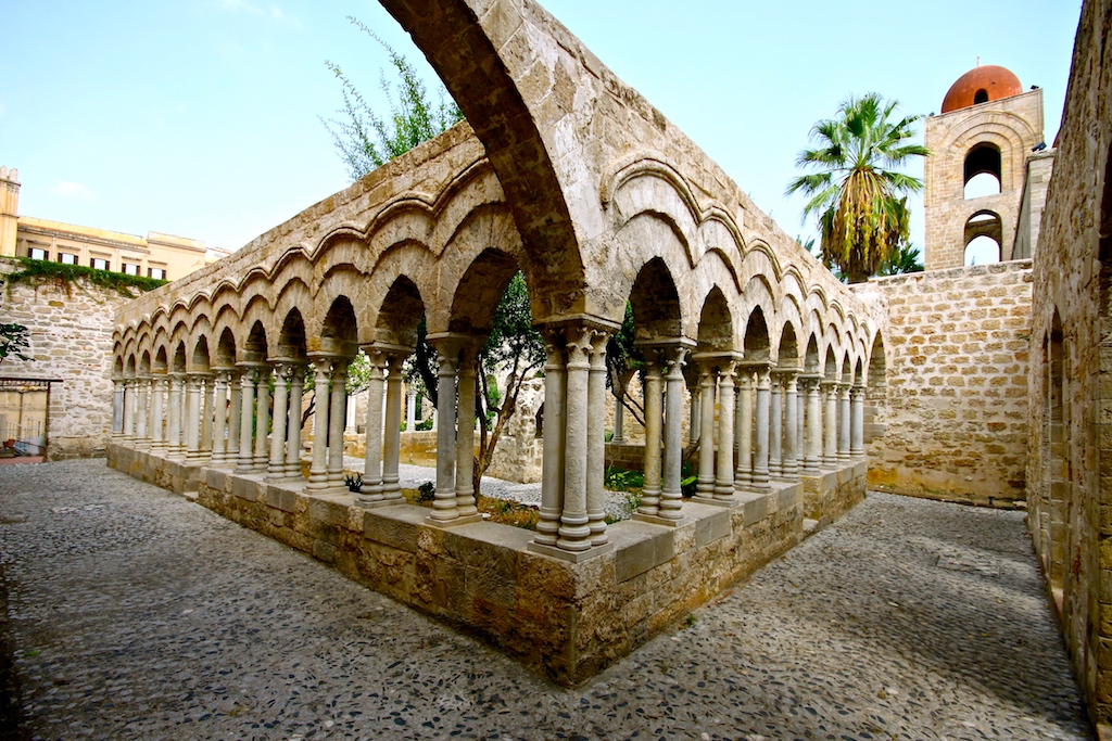 Palermo Eremiti Kreuzgang