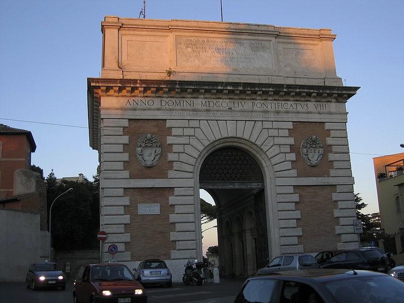 Gianicolo Porta S. Pancrazio