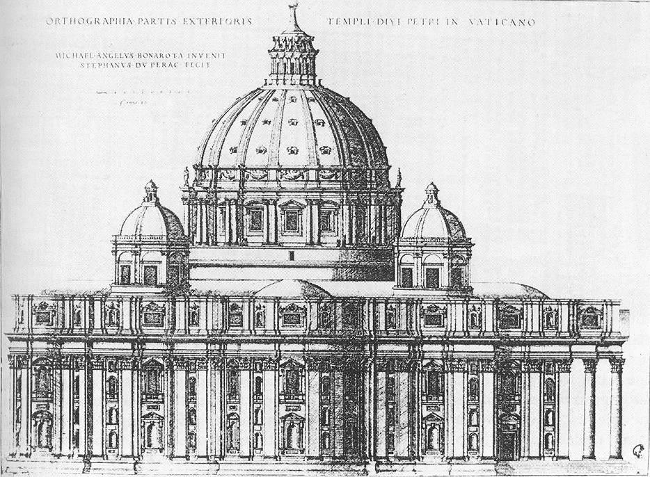 Rom S. Pietro Entwurf