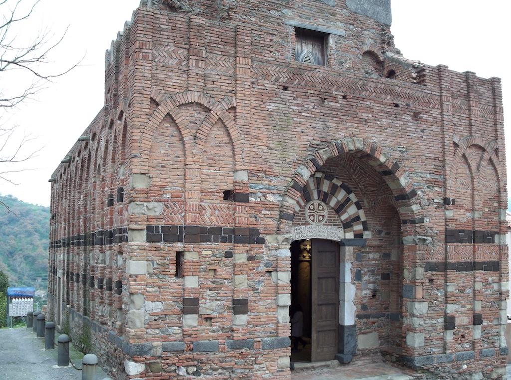 Forza d'Agrò Portal Inschrift