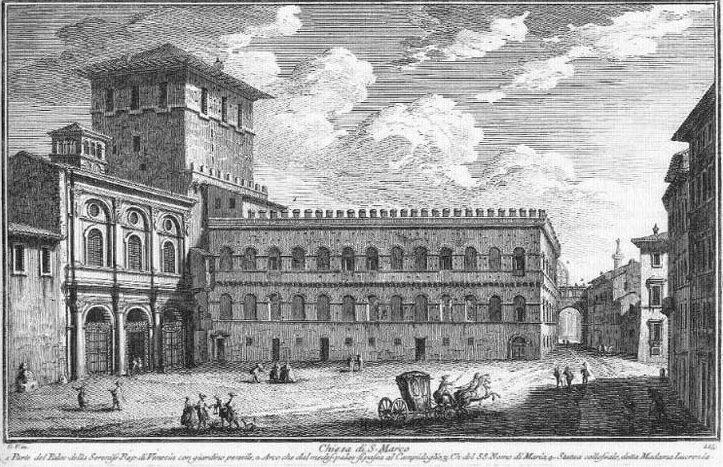 Rom Palazzo Venezia Vasi