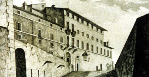 Rom Palazzo Caffarelli 18. Jh.