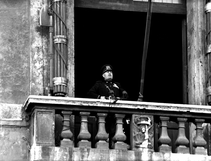 Rom Palazzo Venezia Duce