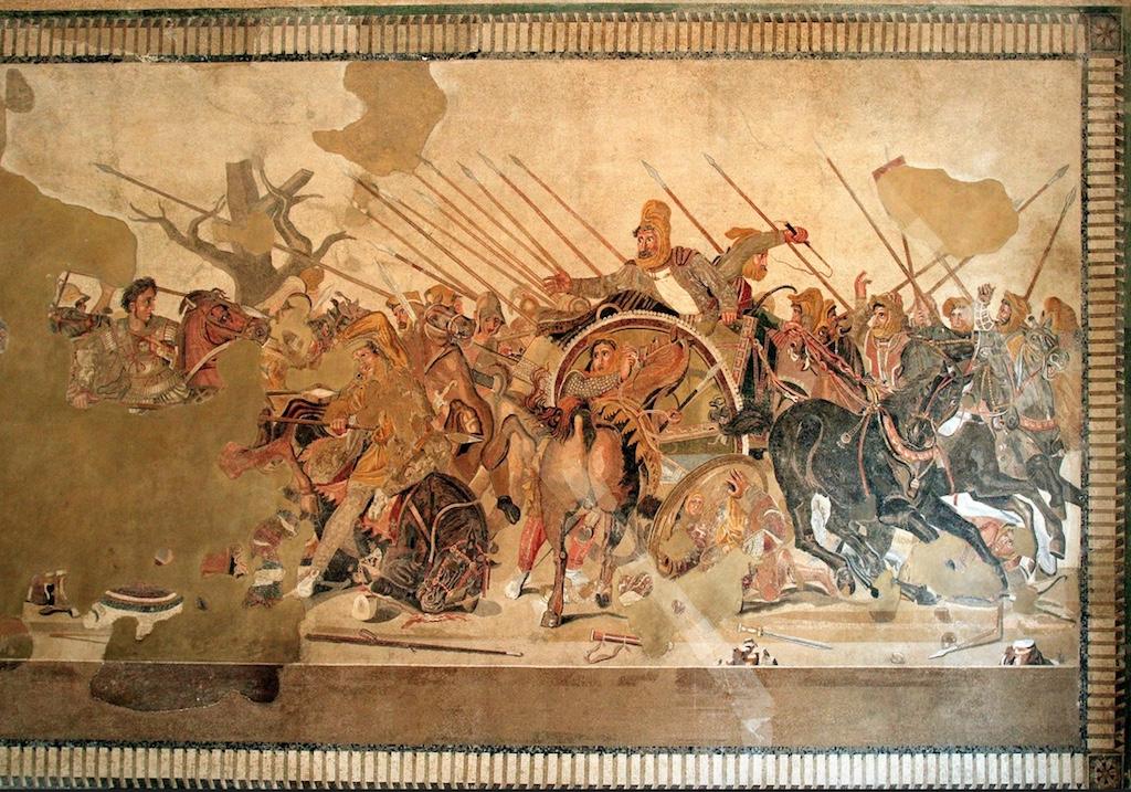 Neapel Alexanderschlacht