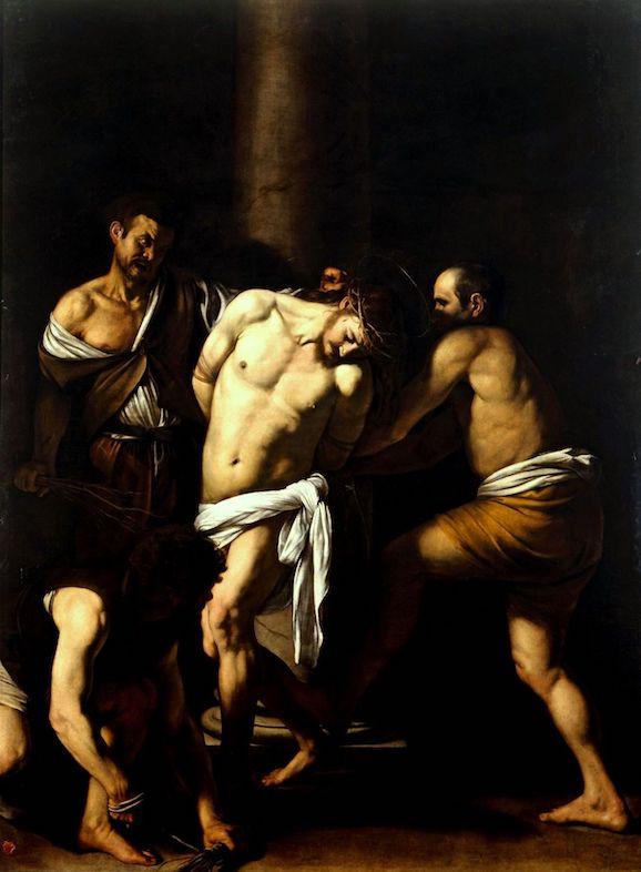Caravaggio 1607 Geißelung Napoli