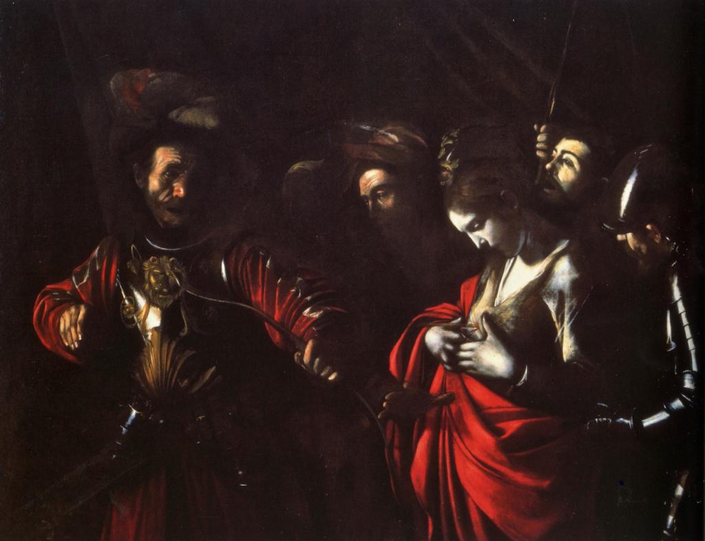 Caravaggio 1610 Ursula Napoli