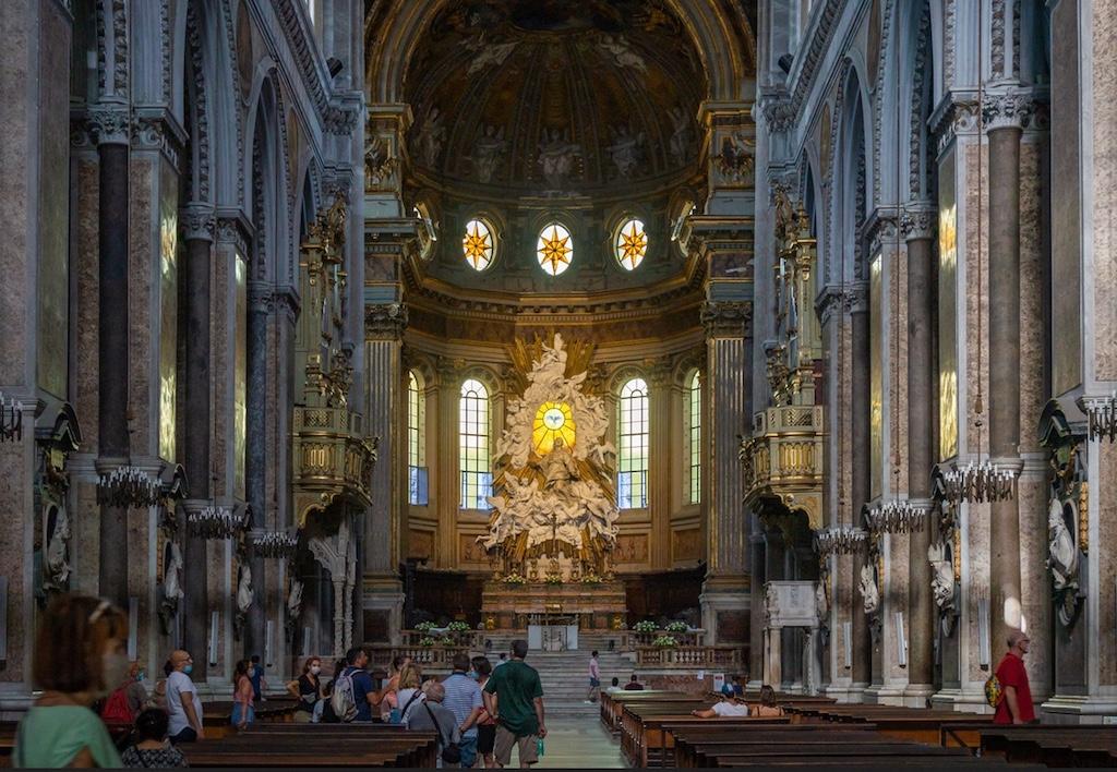 Napoli Duomo Interno