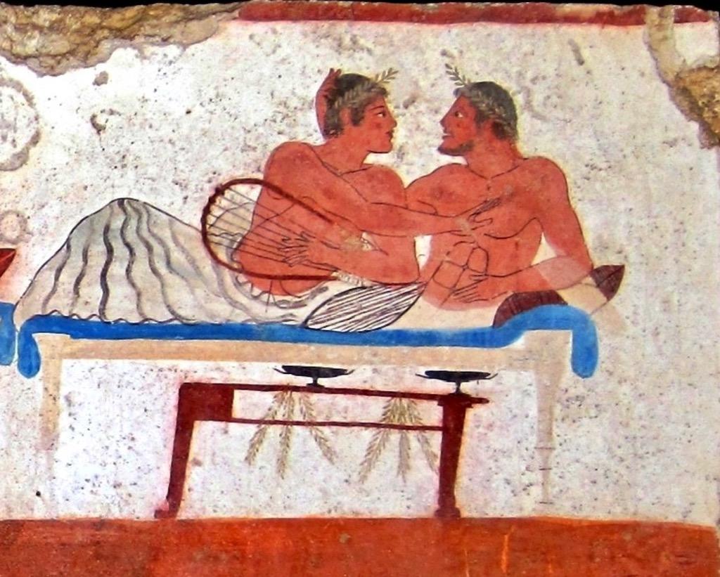 Paestum Malerei