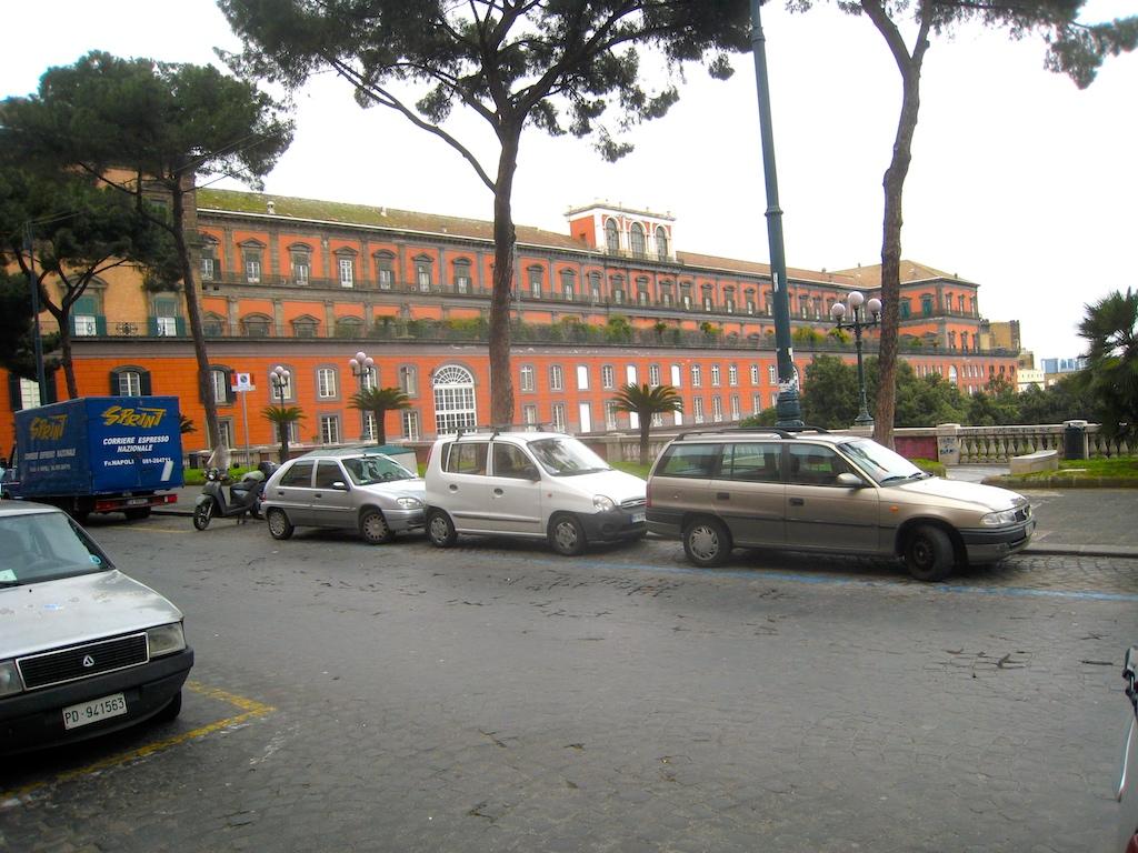 Palazzo Reale Garten