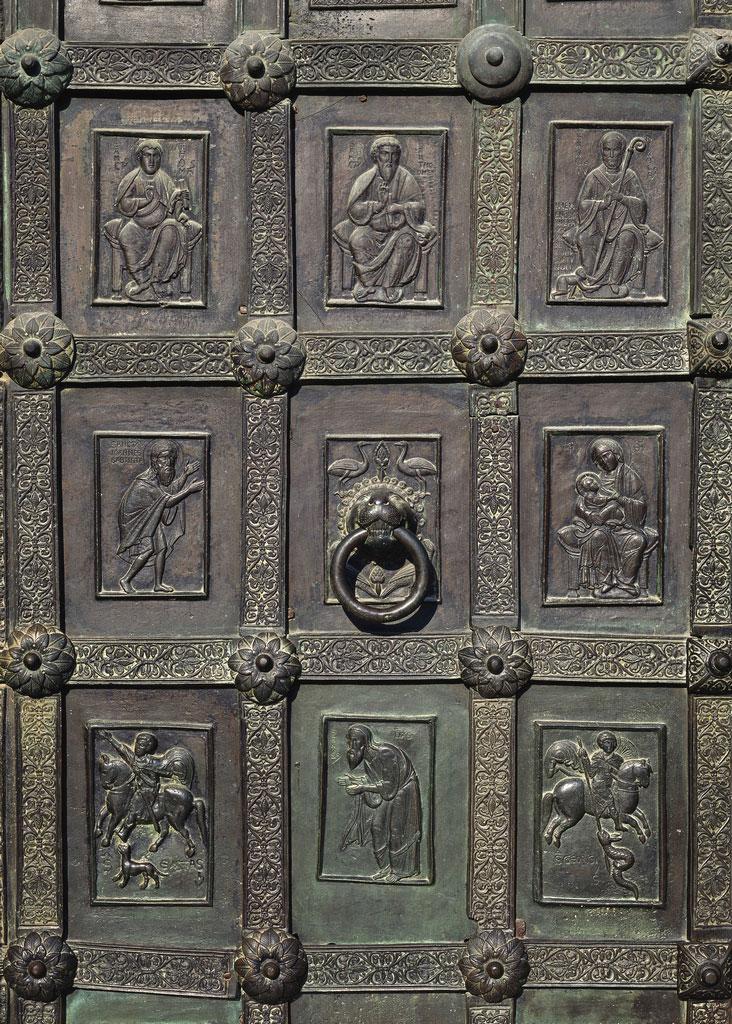 Ravello Bronzetür