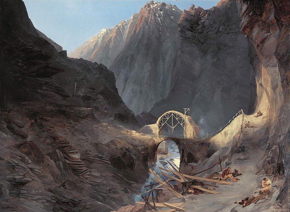 Teufelsbrücke Blechen