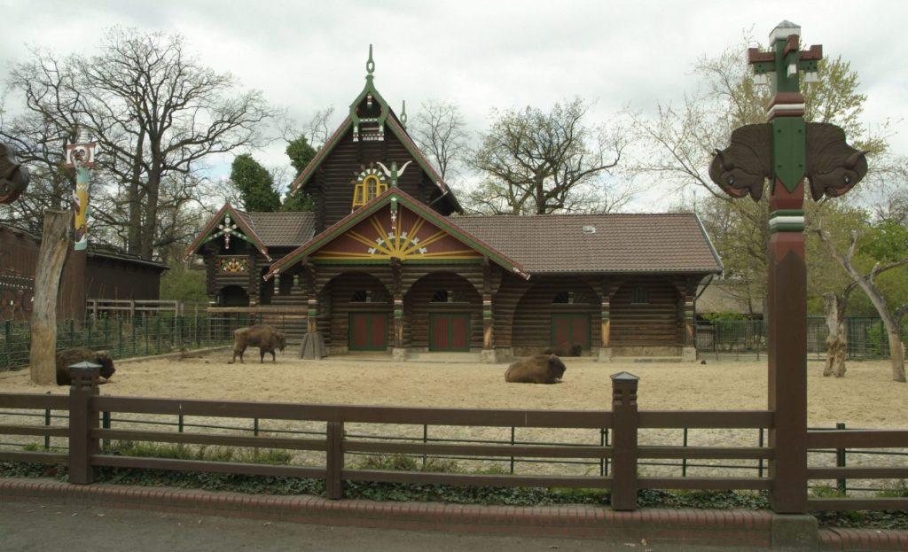 Zoo: Bison- und Wisenthaus