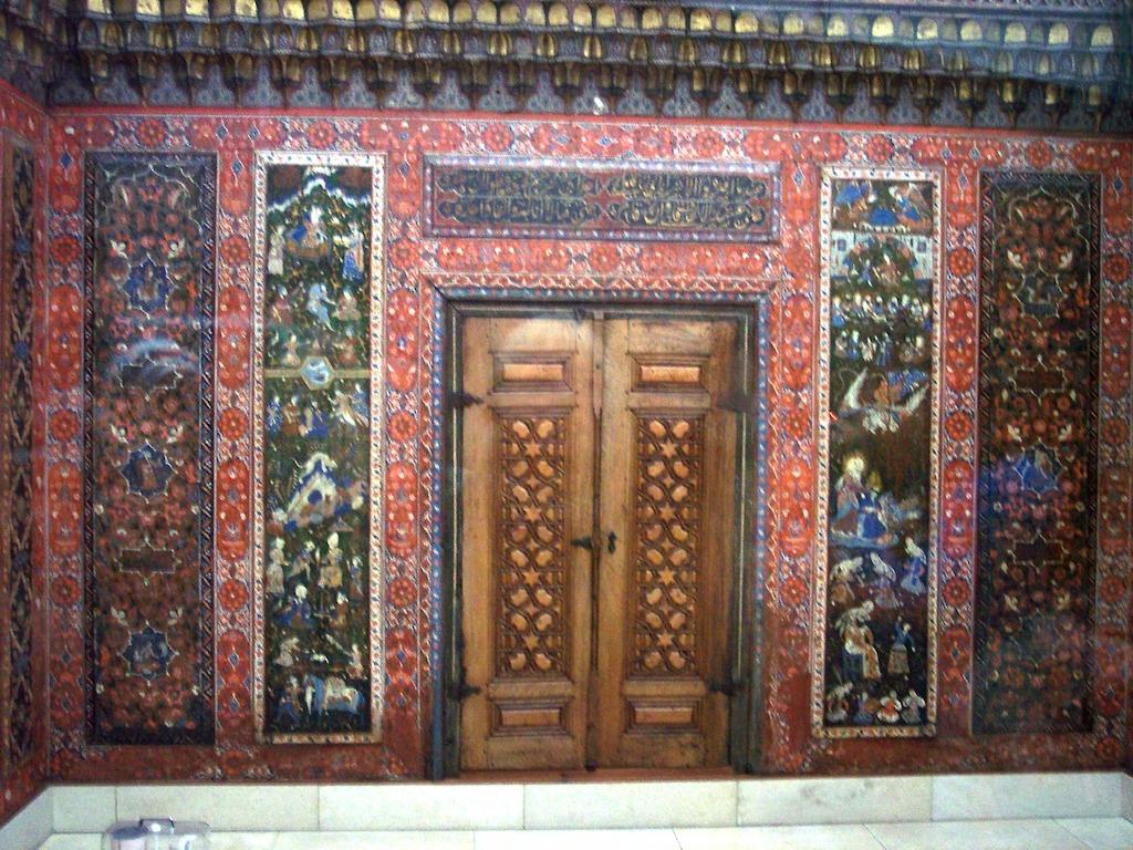 Aleppozimmer Detail