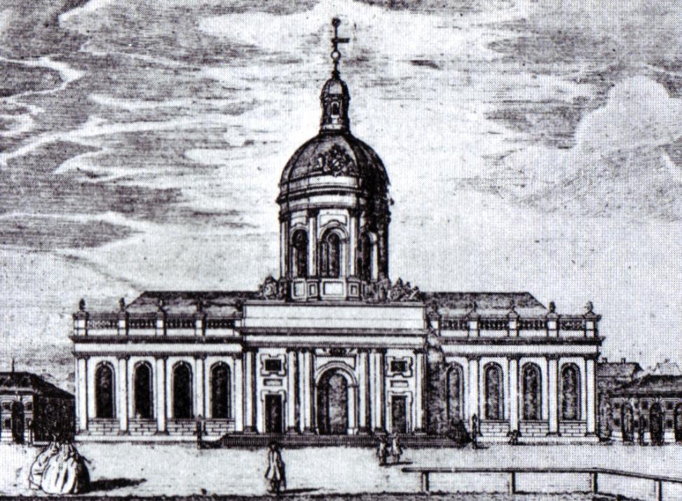 Bouman: Berliner Dom 1750