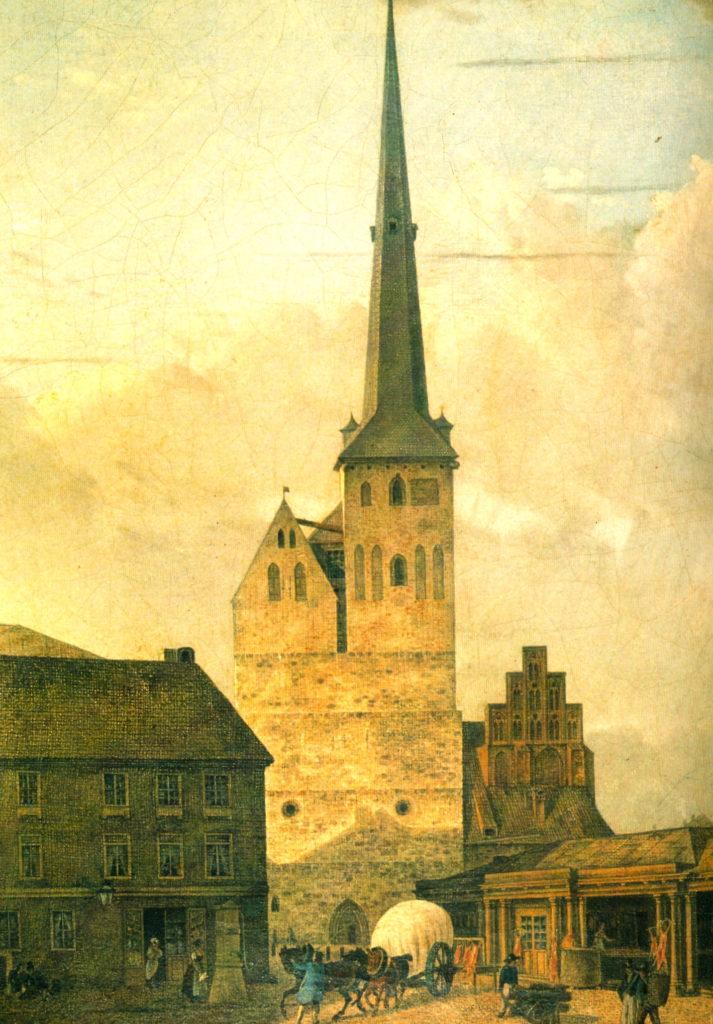 Gemälde Nikolaikirche