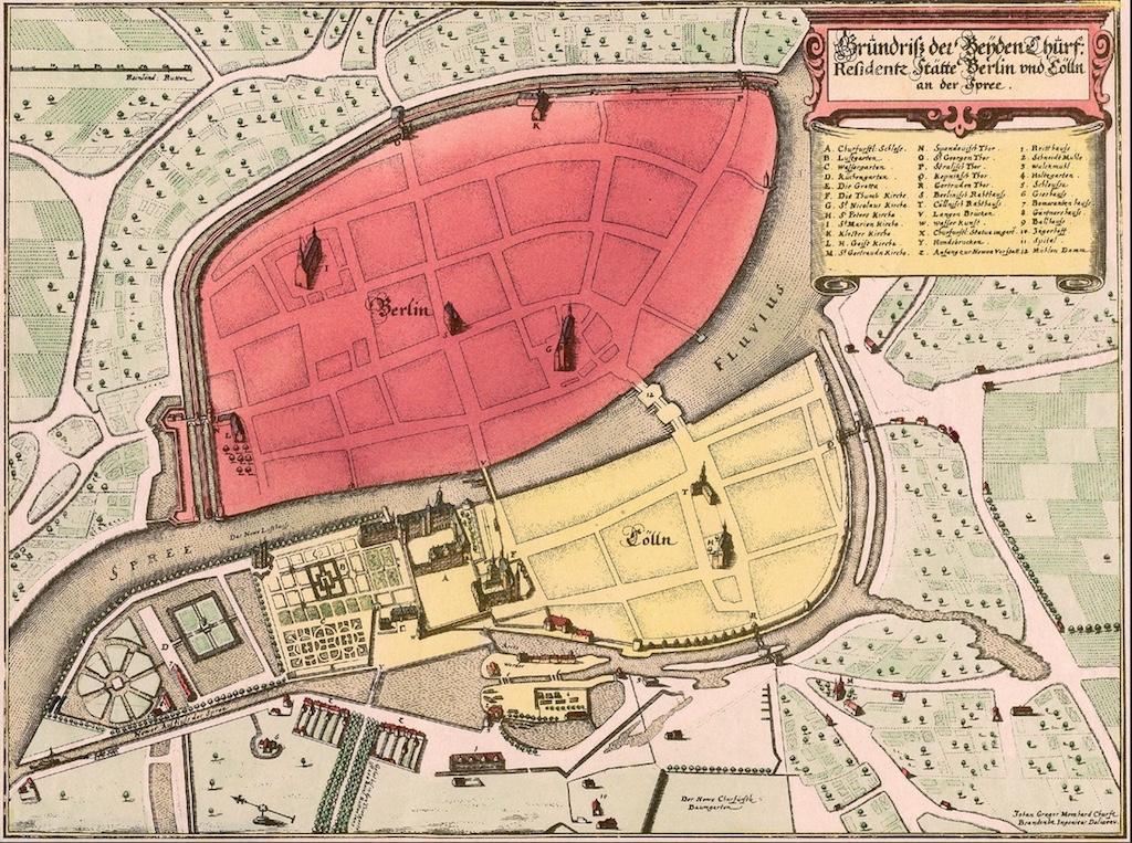 Berlin Memhard Plan