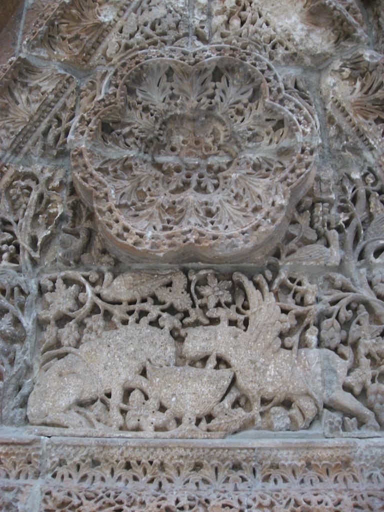 Mschattafassade Detail