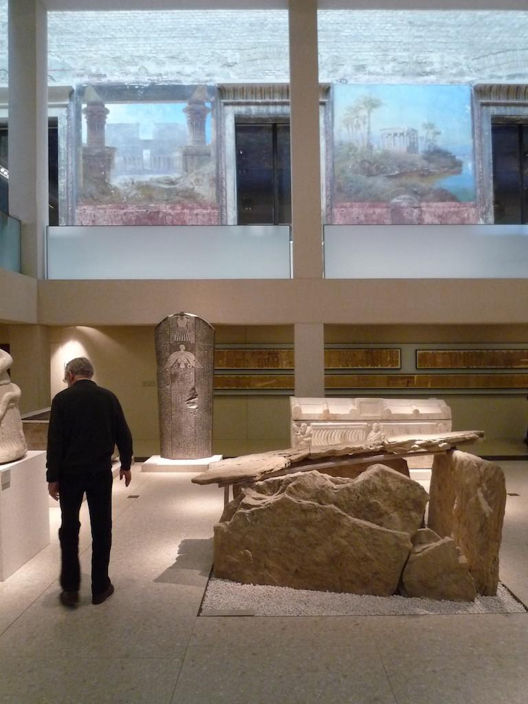 Neues Museum Aegyptischer Hof