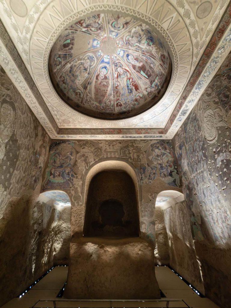 Die Höhle der Ringtragenden Tauben, Kizil
