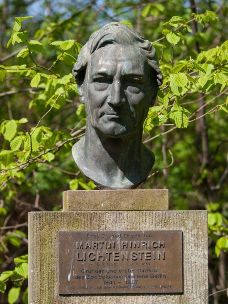 Martin Hinrich Lichtenstein, Gründer u. erster Direktor des Zoos Berlin